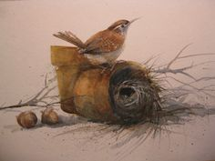 My place by WatercolorTales on Etsy, $65.00