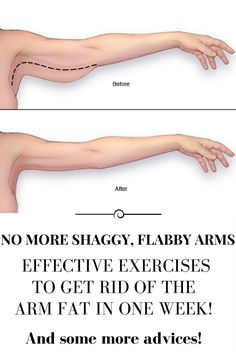 NO MORE SHAGGY, FLABBY ARMS. EFFECTIVE EXERCISES TO GET RID OF THE ARM FAT IN ONE WEEK!