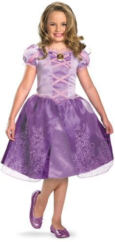 Halloween Costume Savings and Ideas - Only $28.54 for a limited time at DollarDays.com.    Disney Princess #Halloween Costume - Princess #Rapunzel - #Tangled Halloween Costumes.  Find Costume Ideas like #DisneyPrincess Rapunzel.