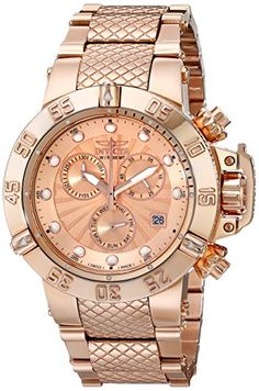 Invicta Women's 16698 Subaqua Analog Display Swiss Quartz Rose Gold Watch Invicta http://www.amazon.com/dp/B00SIWM5PA/ref=cm_sw_r_pi_dp_4q7.ub0CJH5Q7