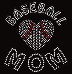 Baseball Mom Bling from my Etsy shop https://www.etsy.com/listing/264758869/baseball-mom-tshirt-rhinestone-hoodie-or