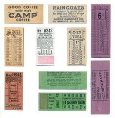 Bus tickets (Craft Stamper)