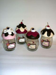 vidros biscuit cupcake - Pesquisa Google