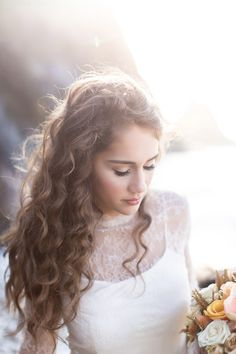 Ethereal bridal shoot on the Oregon Coast | Galleries