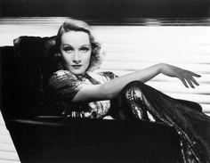 Marlene Dietrich, 1937, photo by George Hurrell