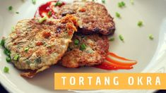 How to Cook Tortang Okra with Giniling Food Prep, Meal Prep, Okra, Salmon Burgers, Beef, Healthy Recipes, Cooking, Videos, Ethnic Recipes