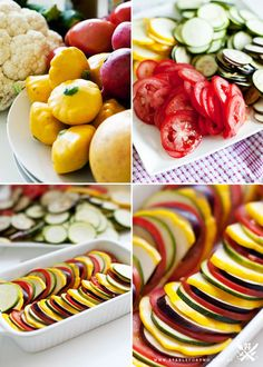 Ratatouille...the recipe from the movie.