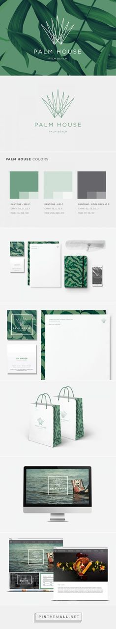 Palm House Restaurant Branding on Behance | Fivestar Branding – Design and…