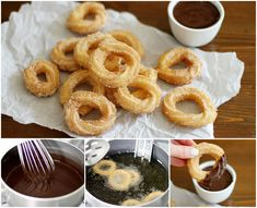 You won't be able to stop eating these churros once you try them!  Recipe--> http://wonderfuldiy.com/wonderful-diy-homemade-churros-with-sause/#