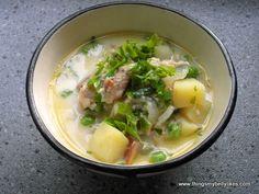 #glutenfree Smoked Trout Chowder - a creamy, fishy, warming bowl of goodness.