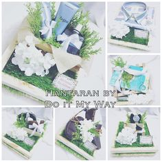 Wedding hantaran rustic by doitmyway. Wedding Gift Hampers, Wedding Gift Boxes, Wedding Tags, Wedding Keepsakes, Wedding Wishlist, Wedding List, Wedding Prep, Wedding Gift Inspiration, Wedding Ideas 2018