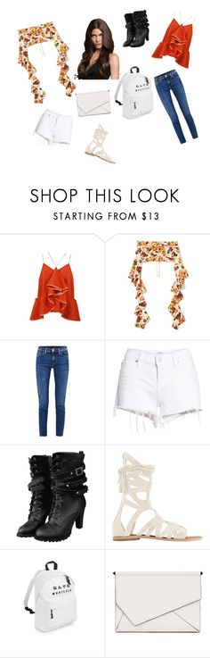 """Which look?"" by miloni-jhaveri ❤ liked on Polyvore featuring E L L E R Y, Acne Studios, Hudson Jeans, Free People and Kendall + Kylie"
