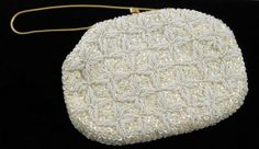 Vintage Beaded and Sequined Evening Bag by vintagerapture on Etsy, $18.00