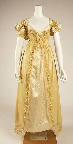 Regency 1820   Not usually a fan of men's and women's fashions of this time period, but I love these details!