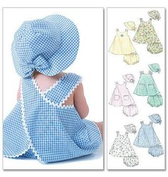 Baby clothes should be selected according to what? How to wash baby clothes? What should be considered when choosing baby clothes in shopping? Baby clothes should be selected according to … Baby Outfits, Little Girl Dresses, Kids Outfits, Girls Dresses, Baby Sewing Projects, Sewing For Kids, Baby Dress Patterns, Sundress Pattern, Fashion Kids