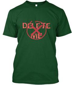 De Le Te  M E Deep Forest T-Shirt Front