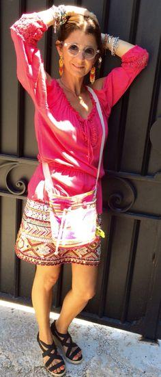 Ma jupe-bijoux MANGO ! #50ansetalors? #mango #blancheporte #kiabi #sanmarina #blog # blogger #mode #strass #paillettes #ootd #outfit