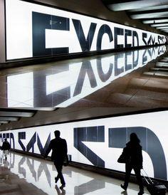 mirror effect billboard More