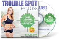 Bruce Krahn's Trouble Spot Fat Loss DVD is a full-length hour-long DVD that is available for free for a limited time only. This DVD is great for men and women and will reveal the secrets of how to lose 1-3 inches of body fat from the most frustrating problem areas. The Trouble Spot Fat Loss DVD program is different from other diet plans because it was created by a nutritionist AND personal trainer and covers ALL aspects of losing trouble spot fat from areas of your body.