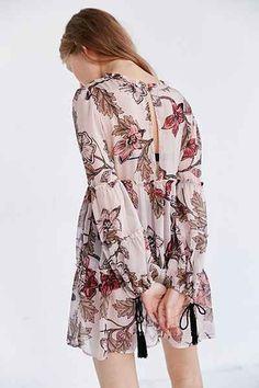 For Love & Lemons Santa Rosa Mini Dress - Urban Outfitters