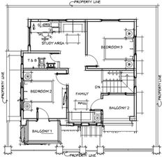 Contemporary 16 - House Designer and Builder New House Plans, House Floor Plans, Duplex Plans, Construction Contract, Ground Floor Plan, Modern Architecture House, Small House Design, Home Design Plans, Model Homes