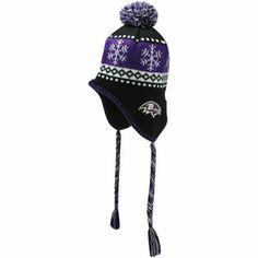 '47 Brand Baltimore Ravens Abomination Knit Beanie - Black/Purple
