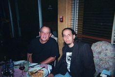 Con Silvio.