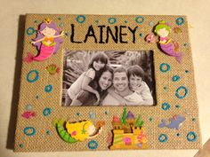 Mermaid Picture Frame