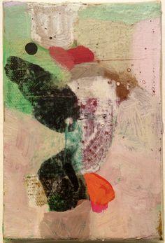 anne-sophie-tschiegg:Anne-Sophie Tschiegg acrylique sur toile 15/10cm