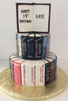 Book Cake | Reading | Gallery | Sugar Divas Cakery | Orlando | Cupcakes | Custom Cakes  Www.sugardivascakery.com