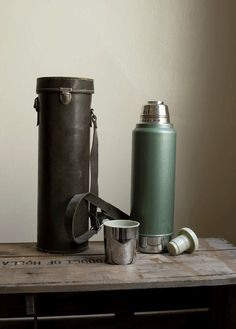 Vintage Stanley Thermos. Saw several in the Clinton Antique Malls.