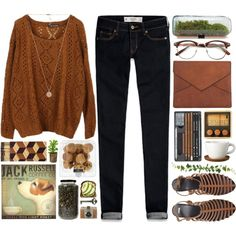 """""""brown 03.11"""" by yexyka on Polyvore"""