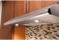 Frigidaire FHWC3640MS 36 Inch Under Cabinet Range Hood with 330 CFM External Exhaust, Dishwasher-Safe Filters and Convertible Exhaust Duct Options
