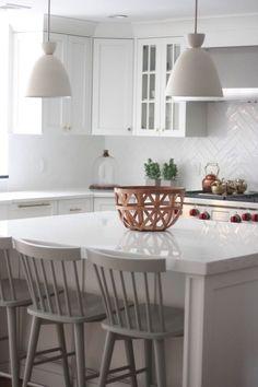 white remodeled kitchen