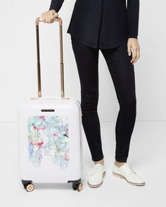 Hanging Gardens small suitcase - Pink | Travel and Luggage | Ted Baker ROW
