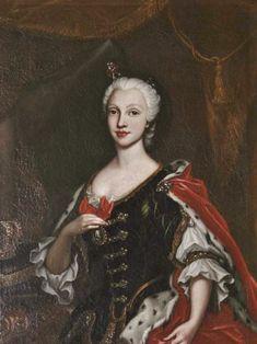 María Amalia de Sajonia, Reina de Nápoles y de Sicilia (1724 - 1760).