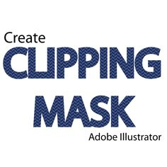 How to Create a Clipping Mask in Adobe Illustrator -- via wikiHow.com