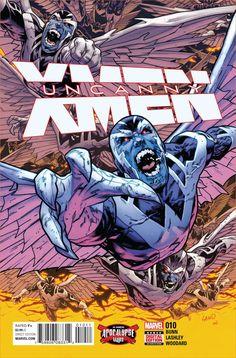 "MARVEL COMICS (W) Cullen Bunn (A) Ken Lashley (CA) Greg Land ""APOCALYPSE WARS"" CONTINUES! • Fearing their teammate Archangel has once more fallen under the sway of the villainous Apocalypse, Psylocke"