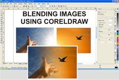 Blending Images Using CorelDraw -