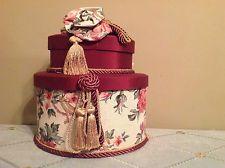 Hat. Box Vintage Hat Boxes, Decorative Boxes, Hats, Ebay, Home Decor, Hat, Interior Design, Home Interior Design, Decorative Storage Boxes