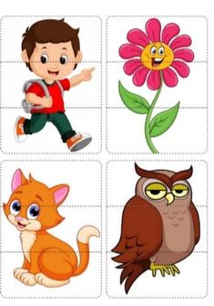 Fun Activities For Toddlers, Preschool Learning Activities, Improve English, Animal Puzzle, Teaching English, Tigger, Childrens Books, Playroom, Animals
