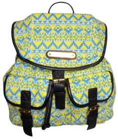 Women LYDC Retro Hippy Backpack Rucksack Aztec Anna Smith Shoulder Hand Bag Girl (Yellow Aztec), http://www.amazon.co.uk/dp/B00CF2H56S/ref=cm_sw_r_pi_awd_a.5jsb1HY1846
