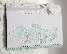 Embossed Floral by sleepyinseattle - Cards and Paper Crafts at Splitcoaststampers Punch Art Cards, Spice Cake, Embossed Cards, Pretty Cards, Stamping Up, Embossing Folder, Soft Colors, Stampin Up Cards, Wedding Cards