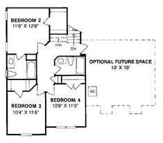 Second Floor of Plan ID: 6637