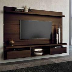 painel para tv na sala de estar