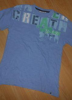 Kaufe meinen Artikel bei #Mamikreisel http://www.mamikreisel.de/kleidung-fur-jungs/kurzarmelige-t-shirts/30277542-t-shirt-gr-152-tom-tailor-guter-zustand