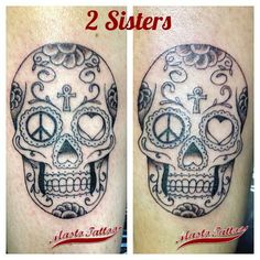 2 Sisters with the same tattoo