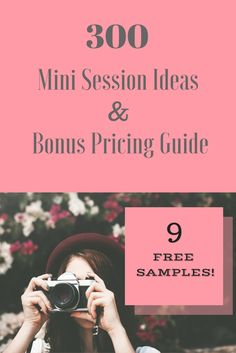 Mini session ideas for every niche' of photography