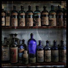 museoftragedy:    old bottles (by bob merco)