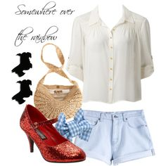 """""""Dorothy - The Wizard of Oz"""" by thebroadwaywardrobe on Polyvore"""